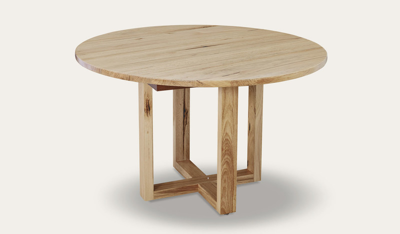 Kennedy round dining table