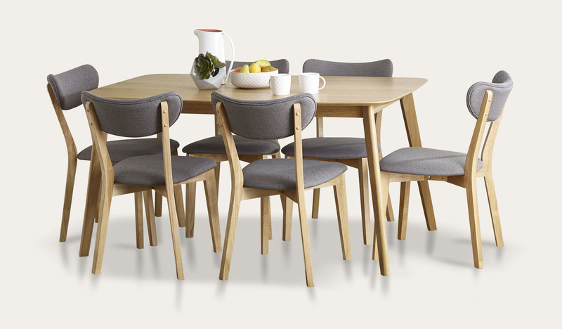 Riga 7 pce dining suite with Rio chairs