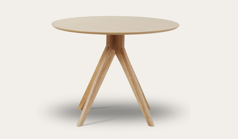 Zaria round dining table