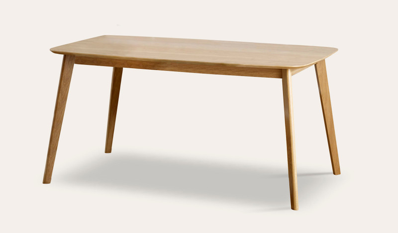 Riga rectangle dining table