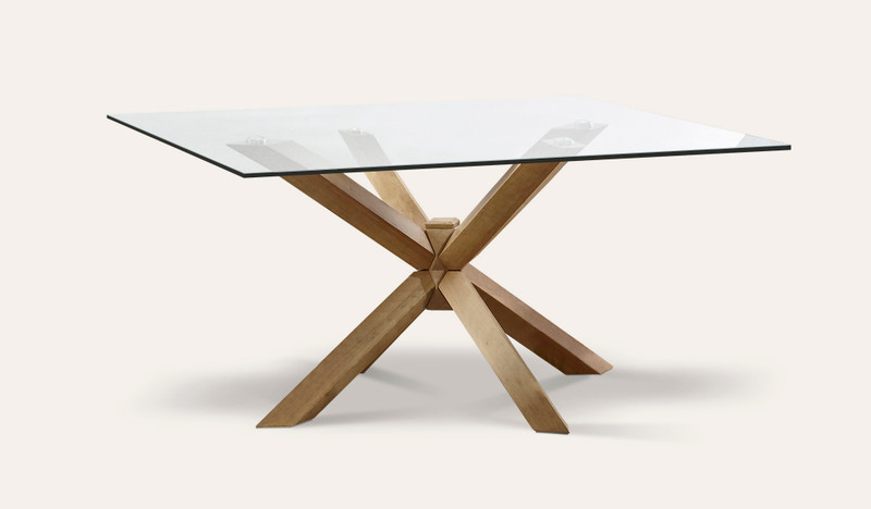 Miles square dining table