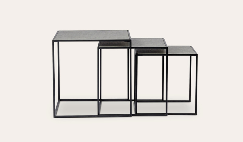 Devani nest of 3 side tables