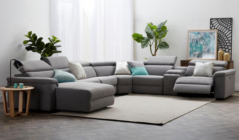 Camilla corner lounge LHF chaise lounge