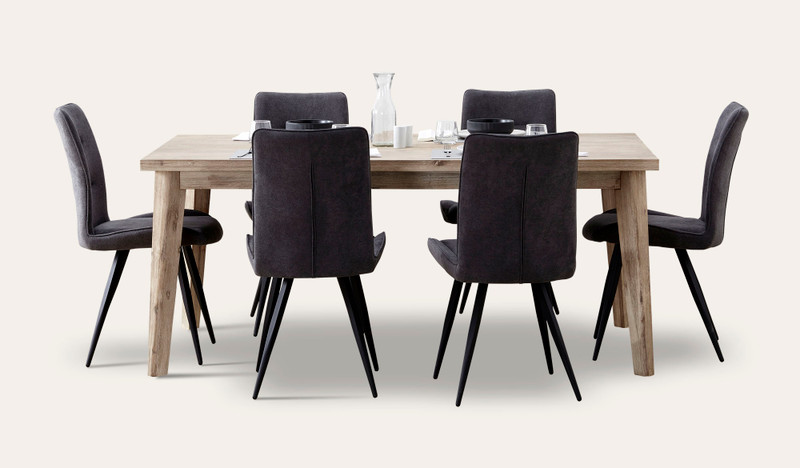 Duke dining suite with Narla chairs