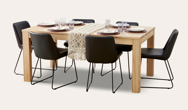Gosford dining with Langston chairs