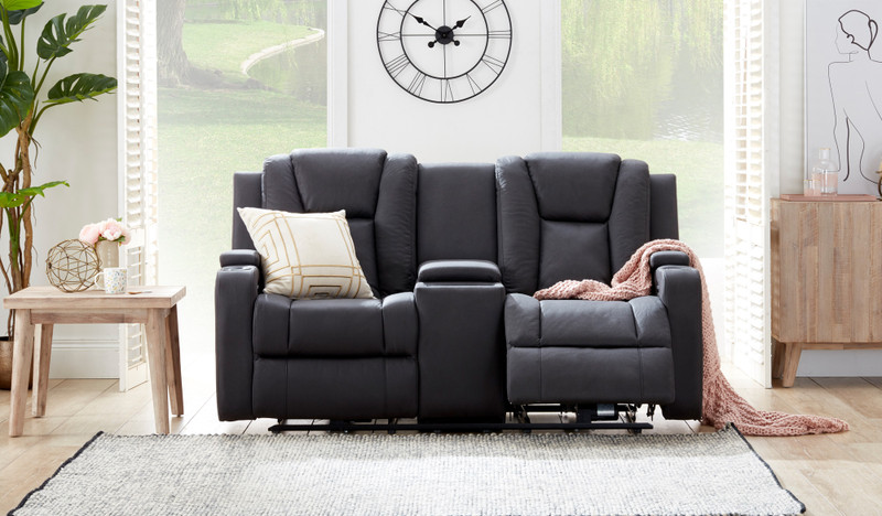 Macpherson fabric 2 seat recliner