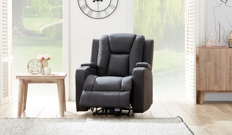 Macpherson fabric recliner