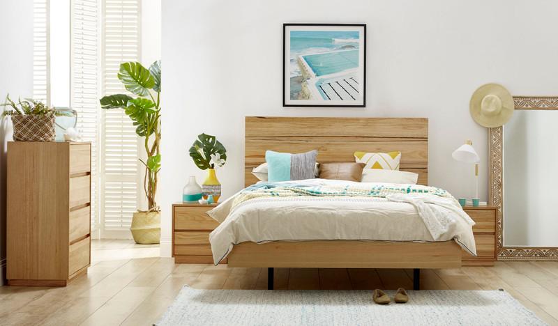 Reagan Australian Messmate Timber Bedroom Suite Focus On Furniture