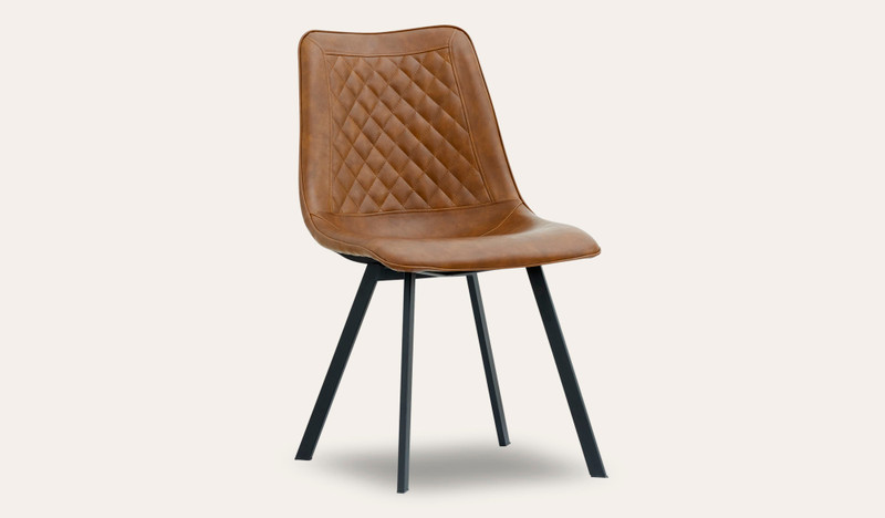Cruze tan dining chair