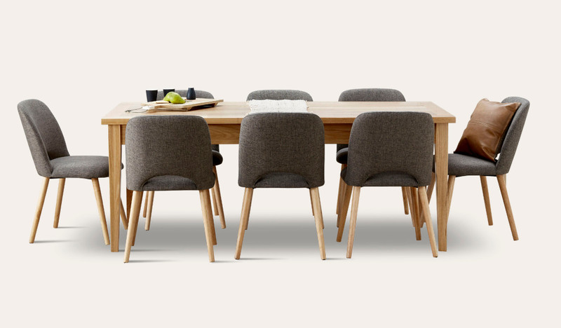 Belgrave extension table suite with Alice chairs