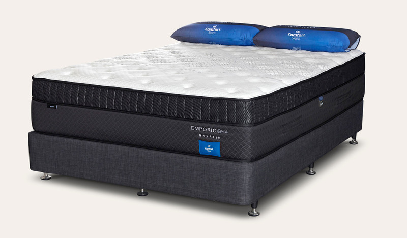 Comfort Sleep Emporio Black Mayfair Plush