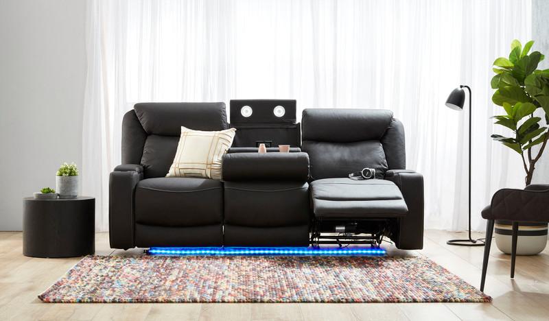 Excalibur 3 seat electric recliner