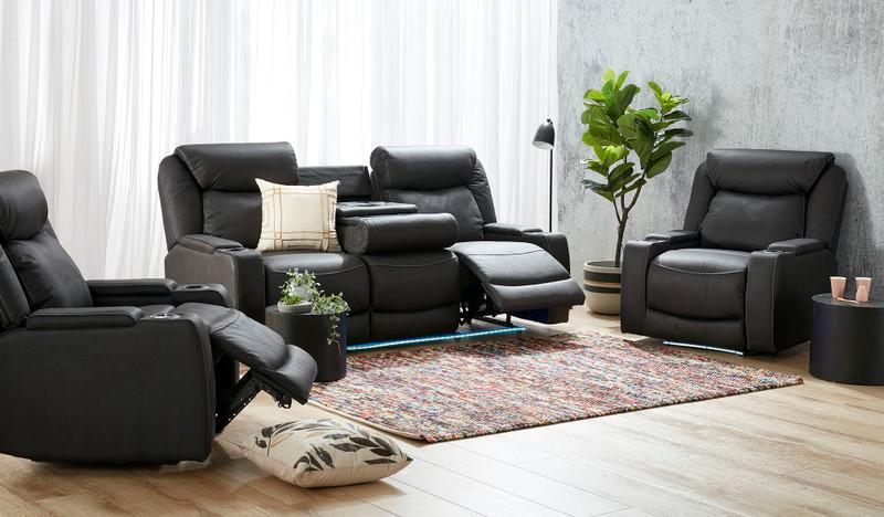 Excalibur 3 pce recliner suite