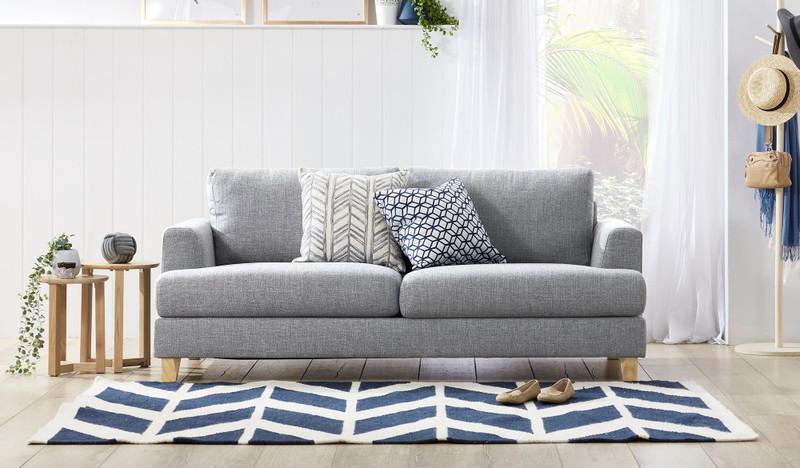 Hamilton 2.5 seat sofa - grey