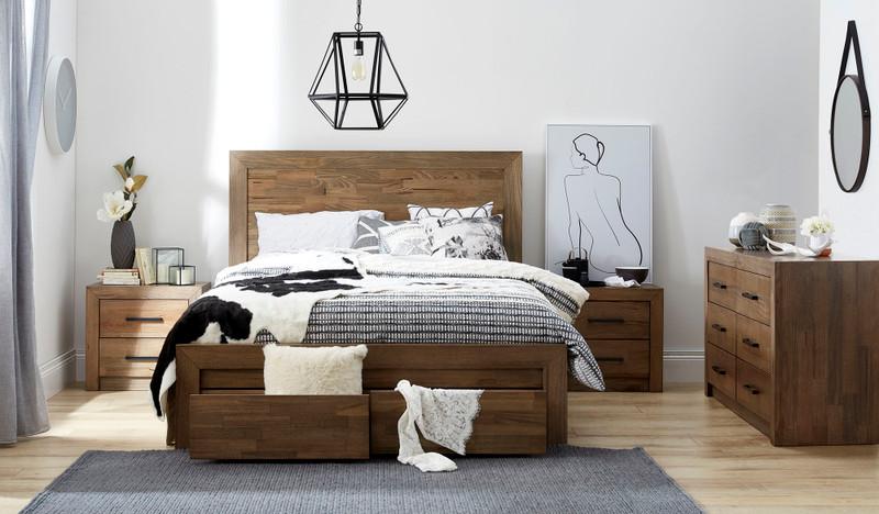 Heyfield 4 pce dresser bedroom suite