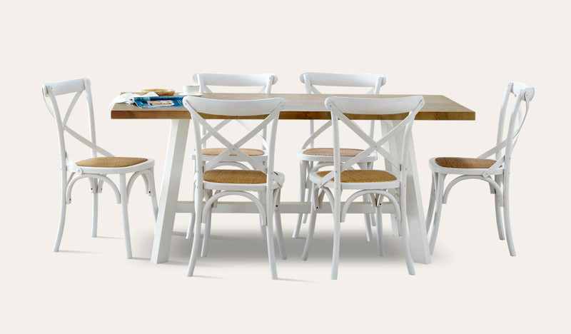 Gables dining with Ibiza chair