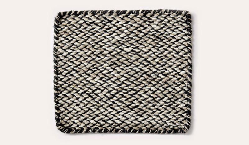 Artisan Kiev mocha2 wool rug