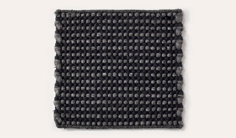 Artisan Coppenhagen charcoal wool rug