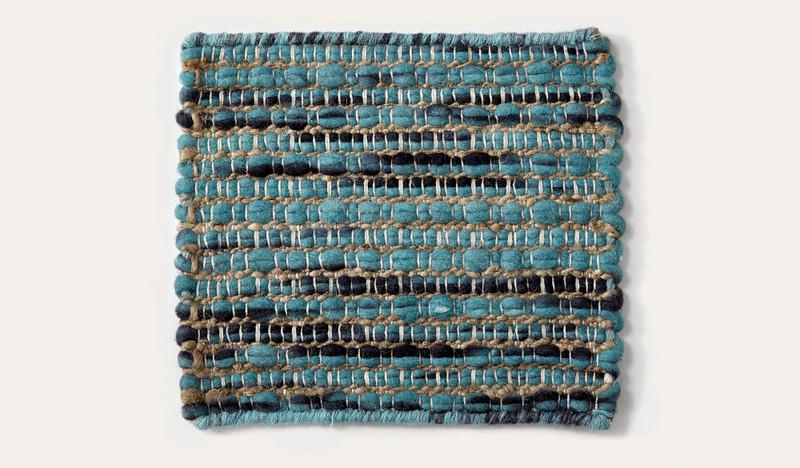 Artisan Luxemburg beetle wool rug