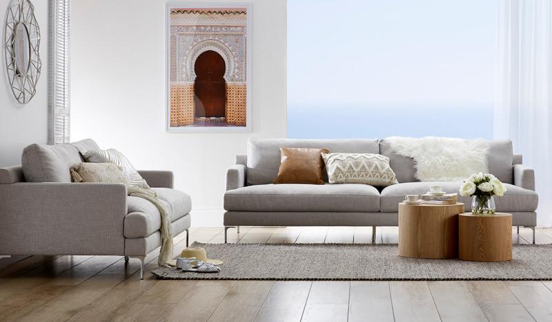 Laura 3.5 + 2.5 sofa suite