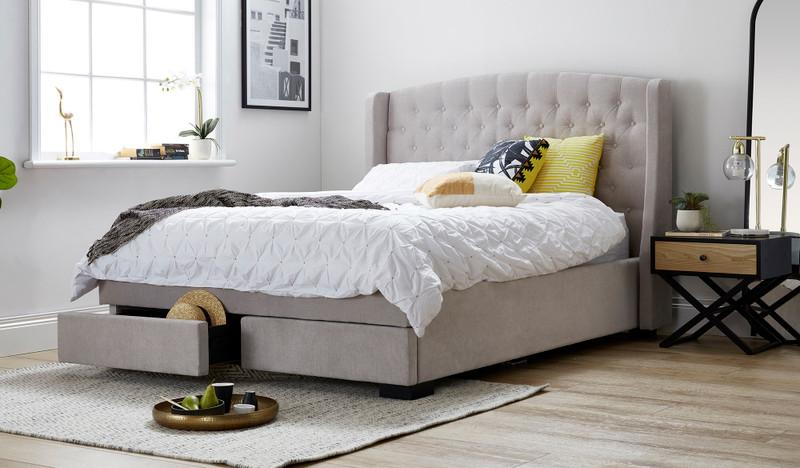Lorna queen bed