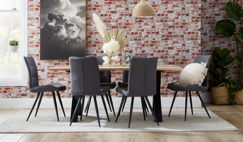 Malvern dining suite with Narla chairs