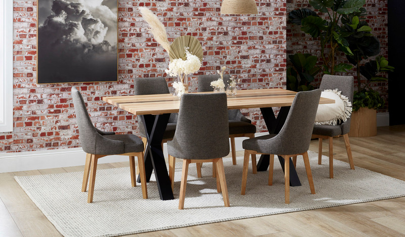 Malvern dining suite with Benson chairs