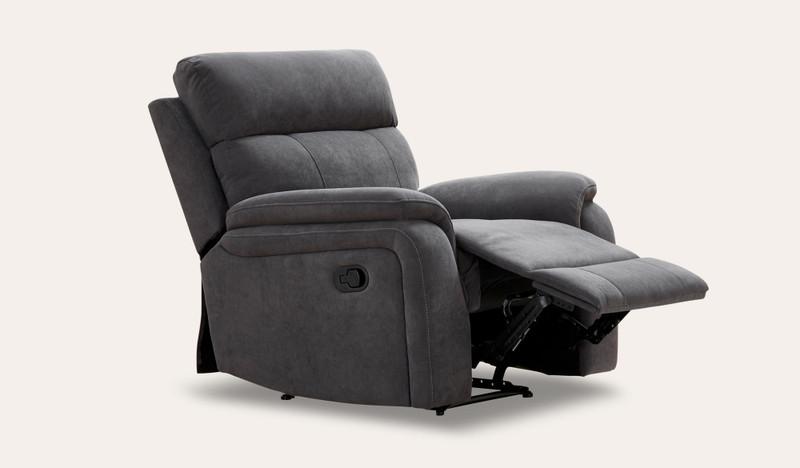 Branden fabric recliner