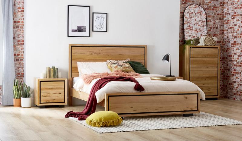 Eden 4 pce tallboy bedroom suite