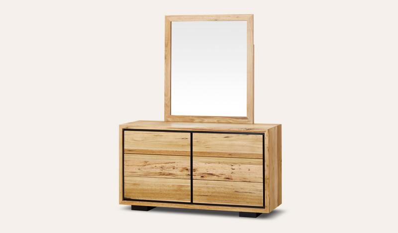 Eden dresser and mirror