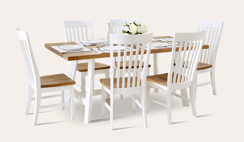 Gables dining suite with Gables chair