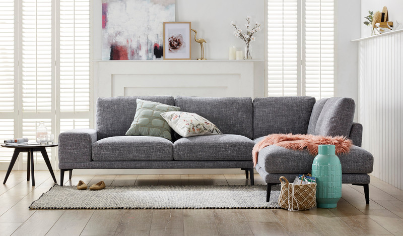 Holly 5 seat corner chaise lounge