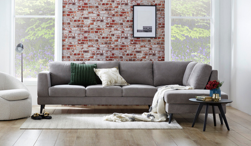 Astra 5 seat corner chaise lounge