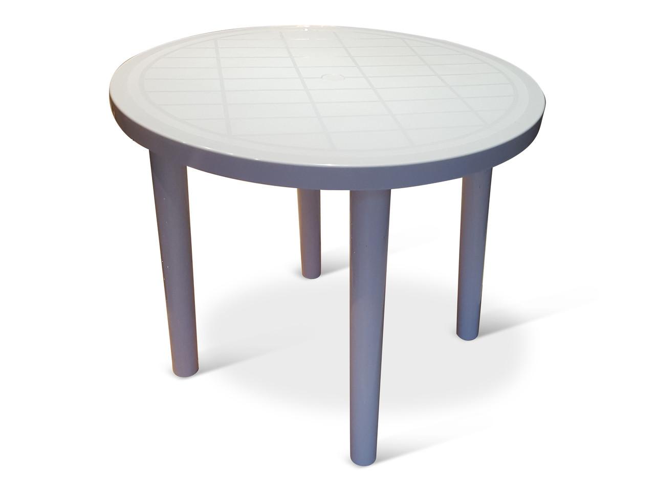 Bistro Patio Furniture.Plastic Round Bistro Patio Table Tessa Table