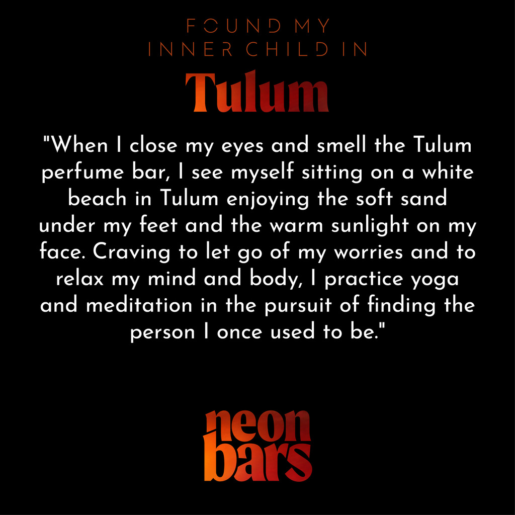 found my inner child in Tulum
