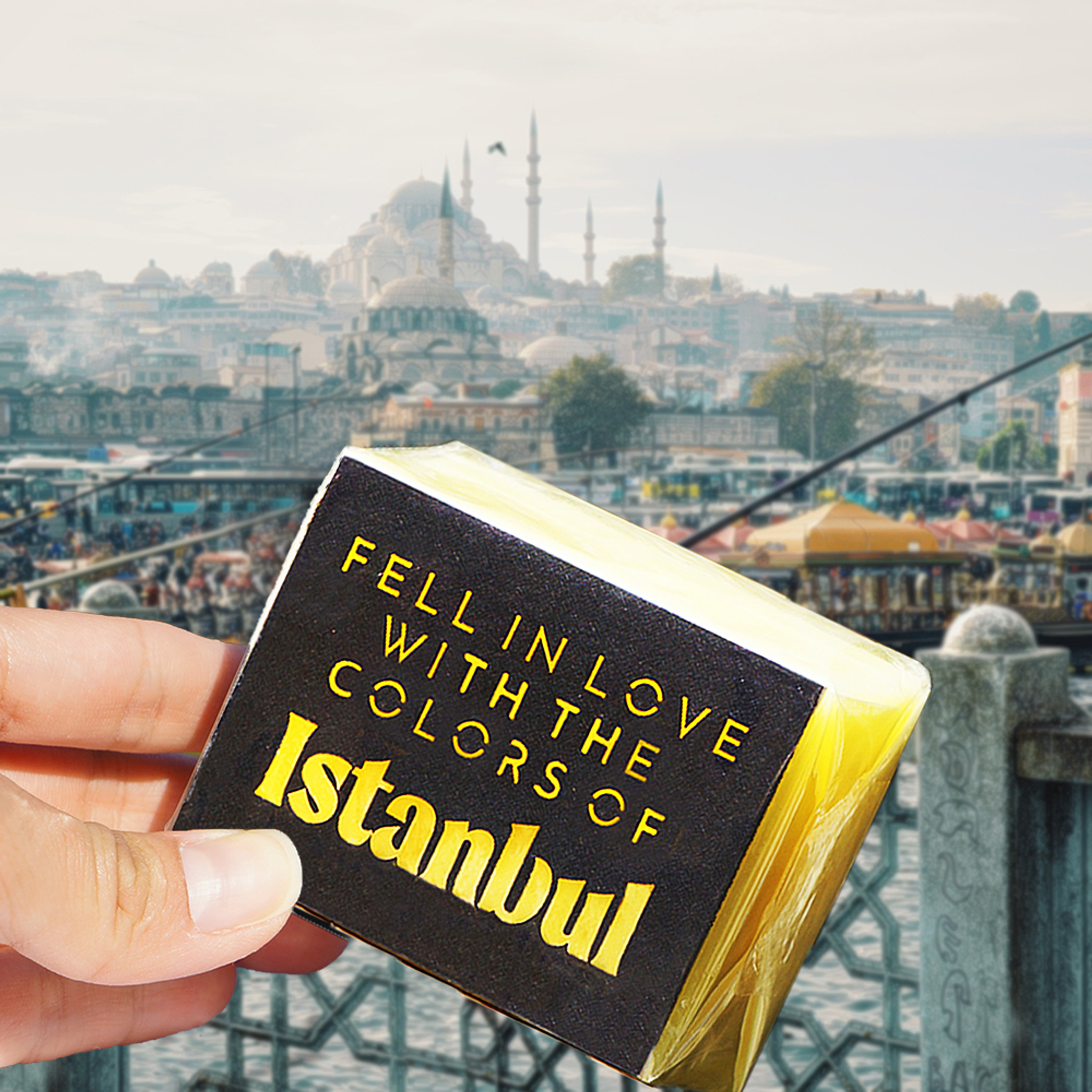 fell in love with the colors of Istanbul