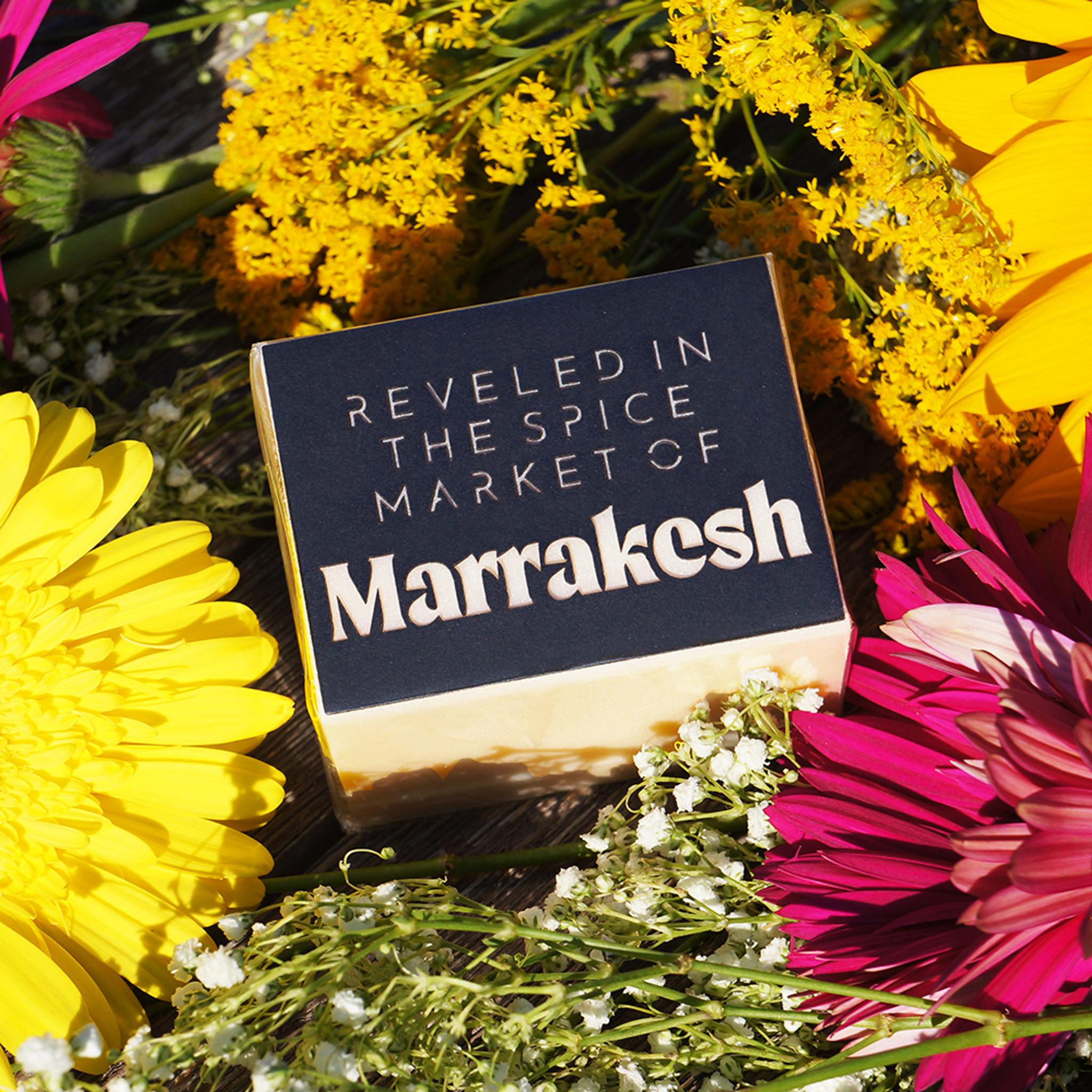 reveled in the spice market of Marrakesh
