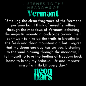 listened to the meadows of Vermont