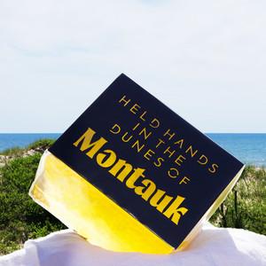 held hands in the dunes of Montauk