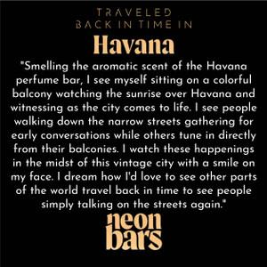 traveled back in time in Havana