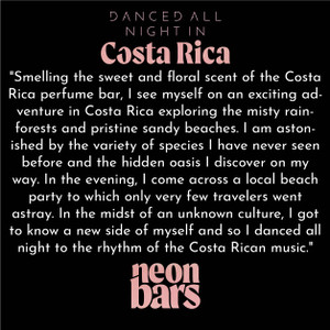 danced all night in Costa Rica