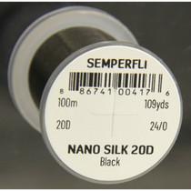 Semperfli Nano Silk Pro 20D Black