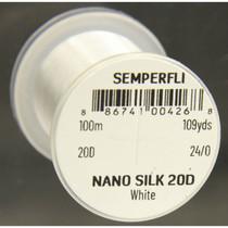 Semperfli Nano Silk Pro 20D White