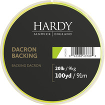 Hardy Dacron Backing 100yd Lime Green