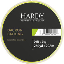 Hardy Dacron Backing 250yd Lime Green