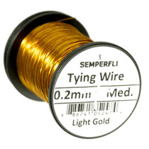 Semperfli Lure Wire - Light Gold