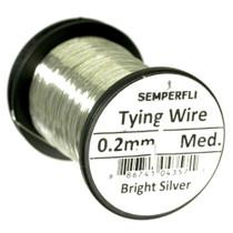 Semperfli Lure Wire - Bright Silver