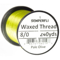 Semperfli Classic Waxed Thread 8/0 Pale Olive