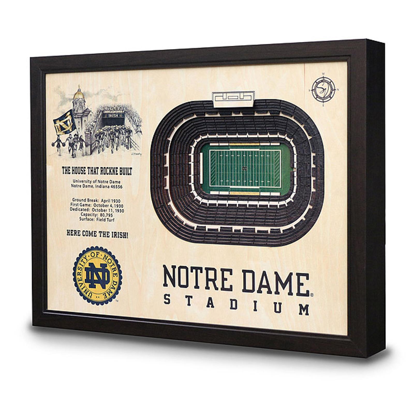 College Football Stadium Art