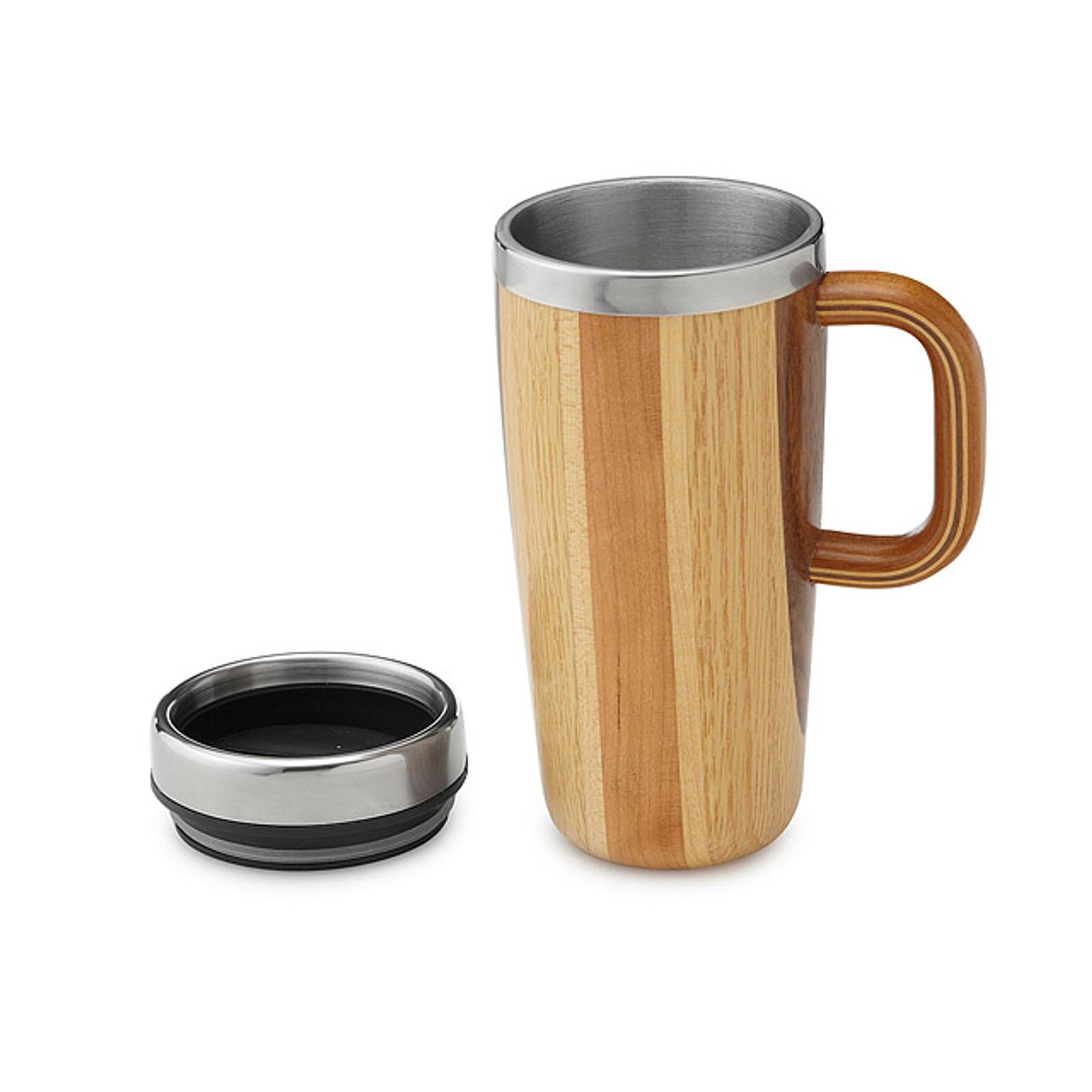 Wooden Travel Mug